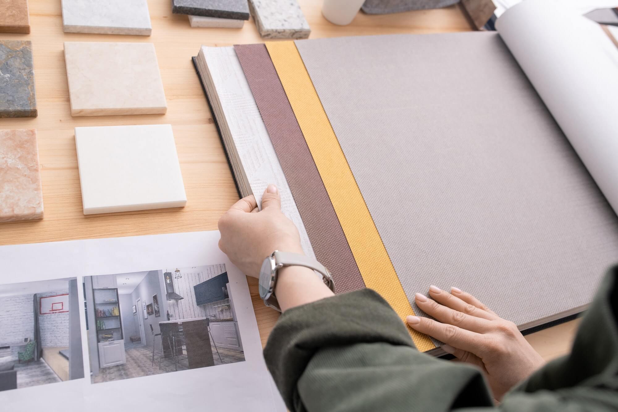 arte behangpapier kiezen bij videco schilderwerken bonheiden