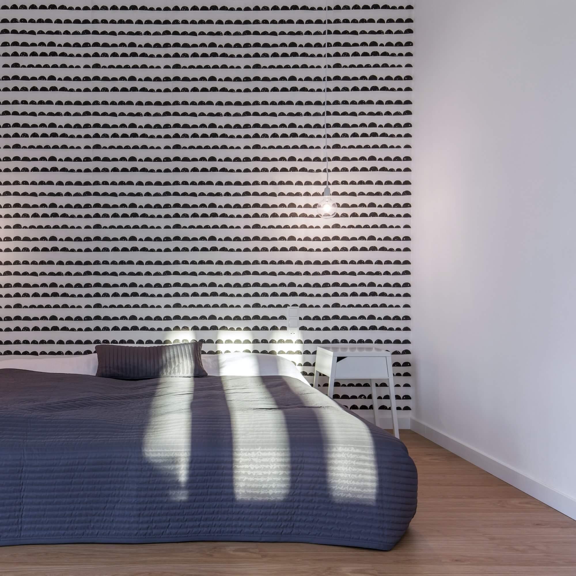 Slaapkamer voorzien van behangpapier? Bonheiden en Mechelen niels viaene behanger